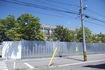 解体途中の酒田市立第二中学校 旧校舎