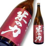 米鶴 米の力 純米 亀の尾