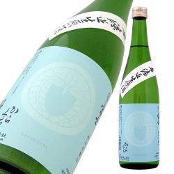 松嶺の富士 家紋ラベル 純米吟醸 からくち<br>無濾過生原酒