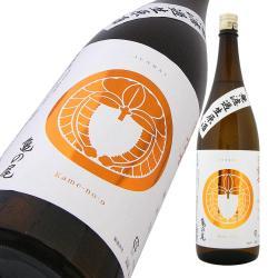 松嶺の冨士 家紋ラベル 純米 亀の尾70 無濾過生原酒